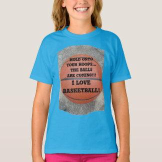 I Love Basketball Funny Shirt