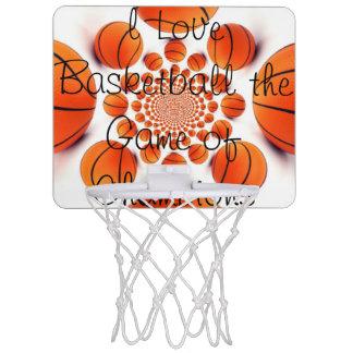 I love Basketball Game of Champions Mini HOOPS Mini Basketball Hoop