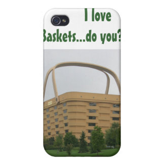 I love baskets...do you? iPhone case iPhone 4 Covers