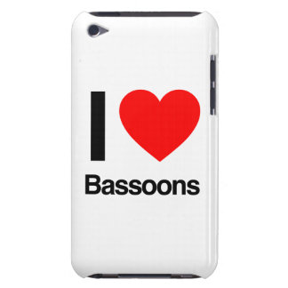 i love bassoons Case-Mate iPod touch case