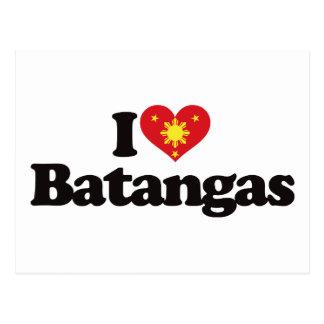 I Love Batangas Postcard