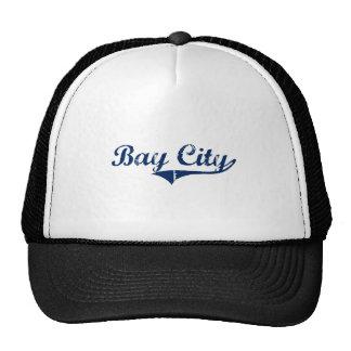 I Love Bay City Michigan Mesh Hat