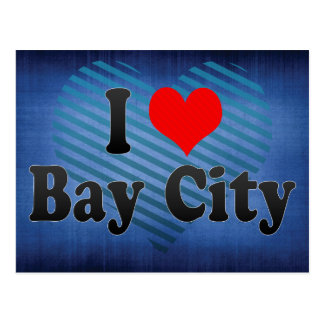 I Love Bay City, United States Post Cards