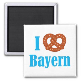 I love Bayern refrigerator magnet