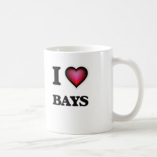 I Love Bays Coffee Mug