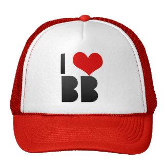 I Love BB Trucker Hat
