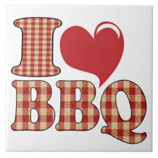 I Love BBQ Tile