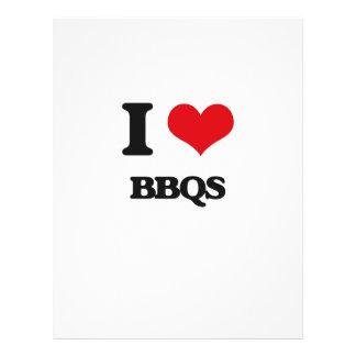I Love Bbqs Flyer