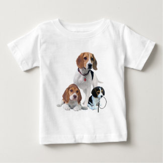 I Love Beagles Baby T-Shirt