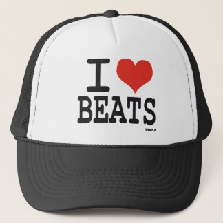 I love beats trucker hat