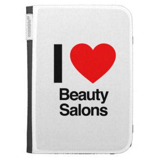 i love beauty salons kindle 3 case