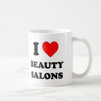 I Love Beauty Salons Coffee Mugs