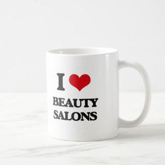 I Love Beauty Salons Mugs