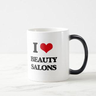 I Love Beauty Salons Mug