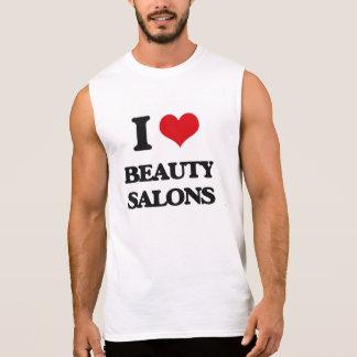 I Love Beauty Salons Sleeveless Tee