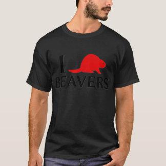 I Love Beavers T-Shirt
