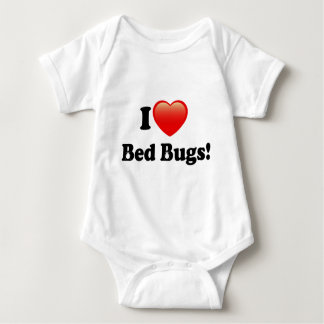 I love Bed Bugs Baby Bodysuit
