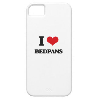 I Love Bedpans iPhone 5 Cover