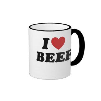 I Love BEEF Coffee Mug