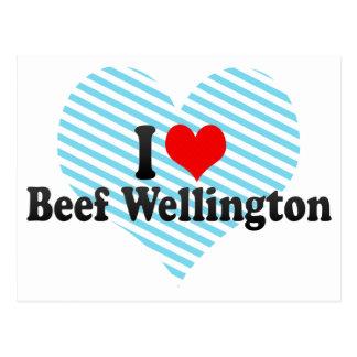 I Love Beef Wellington Postcard