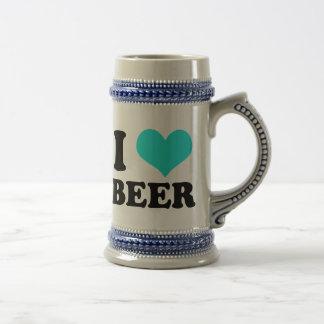 I Love Beer 18 Oz Beer Stein