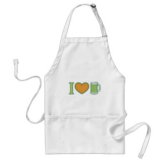 I Love Beer! Aprons