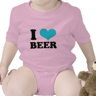 I Love Beer Baby Creeper