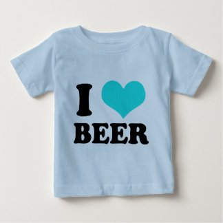 I Love Beer Baby T-Shirt