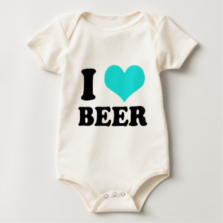 I Love Beer Bodysuit