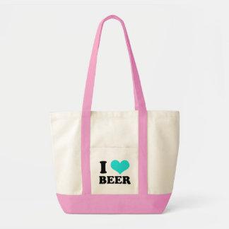 I Love Beer Impulse Tote Bag