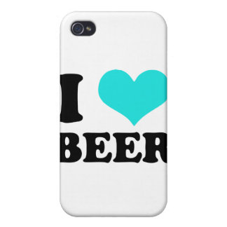 I Love Beer iPhone 4/4S Cases