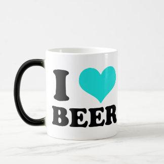 I Love Beer Morphing Mug