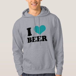 I Love Beer Sweatshirts