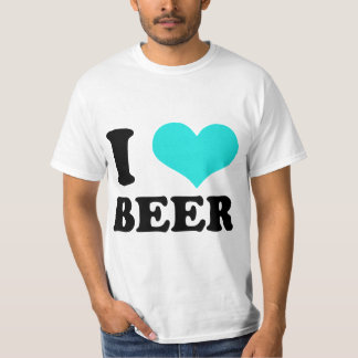 I Love Beer T Shirt