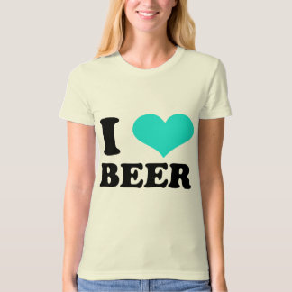 I Love Beer T Shirts