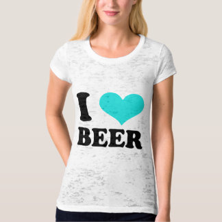 I Love Beer Tee Shirt