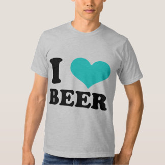I Love Beer Tee Shirts