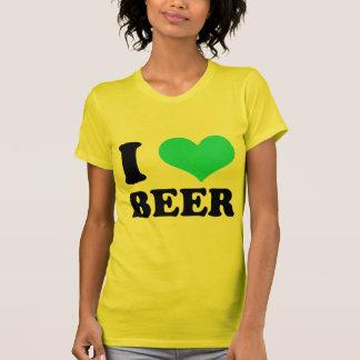I Love Beer Tee Shirts