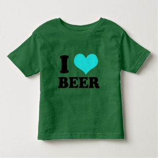 I Love Beer Toddler T-Shirt
