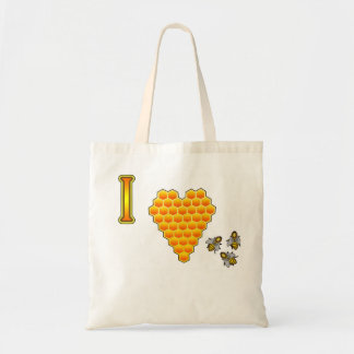 I Love Bees Tote