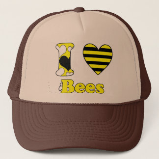 I love Bees Trucker Hat