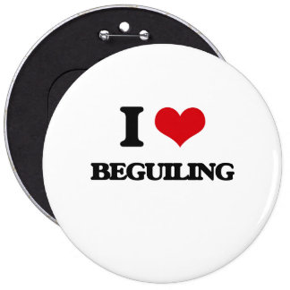 I Love Beguiling Button