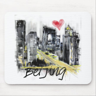 I love Beijing Mouse Pad