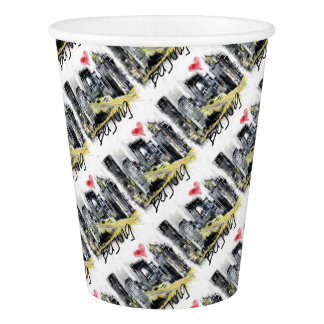 I love Beijing Paper Cup