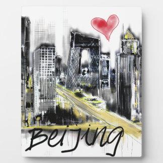 I love Beijing Plaque