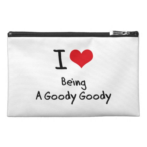 I Love Being A Goody Goody Travel Accessories Bags