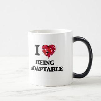I Love Being Adaptable Morphing Mug