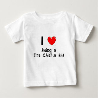 I love being an Fire Chief's Kid T-Shirt