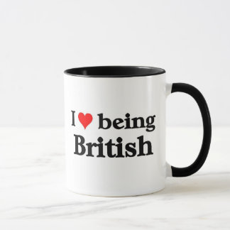 I love being British Mug