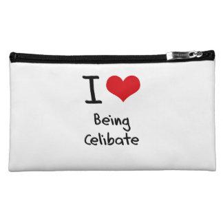 I love Being Celibate Cosmetic Bags
